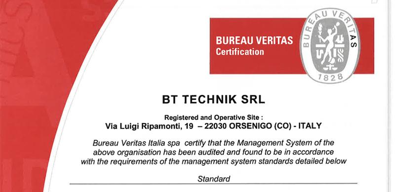 rinnovo certificazione